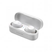 Canyon CNE-CBTHS1W True Wireless Bluetooth slúchadlá do uší, nabíjacia stanica v kazete