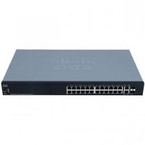 Cisco SG250-26HP 26-portový Gigabit PoE Switch