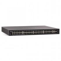 Cisco SG250X-48P 48-portový Gigabit PoE Smart Switch s 10GbE portmi